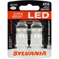 SYLVANIA ZEVO LED 4114 White 6000k Two Bulbs Daytime Running Light Replace Lamp