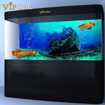 VIP.LINE Jellyfish Aquarium Background Poster PVC Fish Tank Decorations Landscape