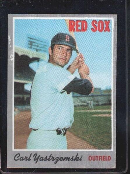 Carl Yastrzemski 1970 Topps Baseball Card # 461 Vintage Baseball Card Genuine Authentic Original  EC142