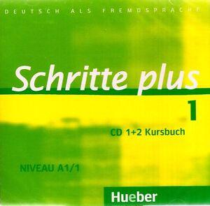hueber schritte plus cd 39 s zum kursbuch niveau a1 1 deutsch als fremdsprache new ebay. Black Bedroom Furniture Sets. Home Design Ideas