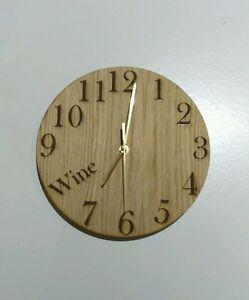 Clocks-Wine-O-039-Clock-Beer-Vodka-O-039-Clock-amp-More-Walls-Clocks-Novelty-Clocks