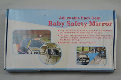 XXX-W Car Safety Baby Auto Back Seat Mirror Rear Safety