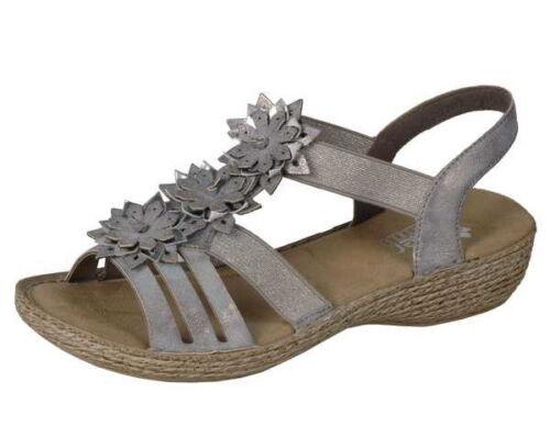 taille 36-42 Rieker Femmes Sandale 65858-40 +++ NEUF +++ Art