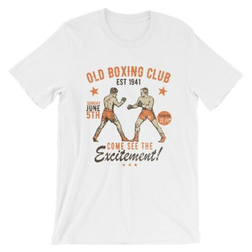 Old Boxing Club T-Shirt 100/% Cotton Premium Tee NEW
