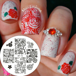 Nail Art Stamping Plates Image Plate Decoration VALENTINES ...