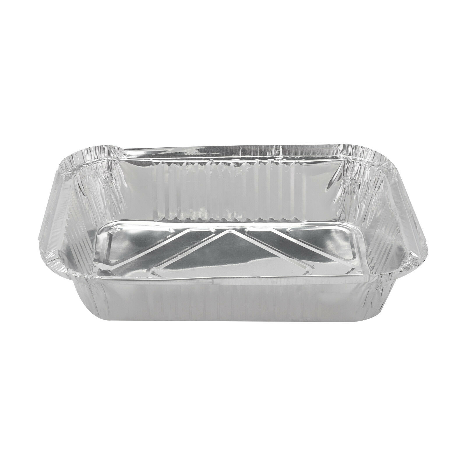 Lids 20x Disposable Aluminum Foil Tin Trays Roasting Takeaway Oven Baking Tray