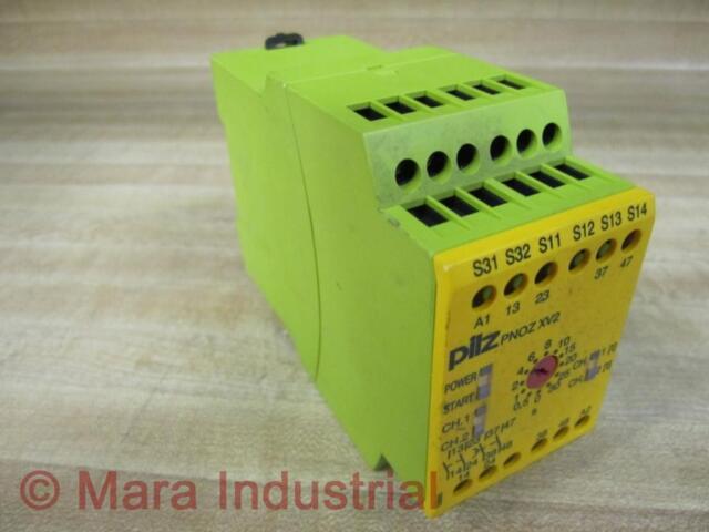 Pilz 774500 Relay PNOZ XV2 30/24VDC 2n/o 2n/o T