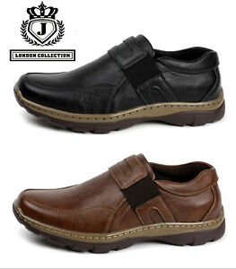 Mens-Smart-Casual-Slip-On-Walking-Driving-Moccasin-Loafers-Comfort-Office-Shoes