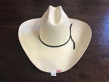 "BUSINESS LIQUIDATION: Texas Hat Co 10X Tan ""All Around"" Straw Cowboy Hat 6 7/8"