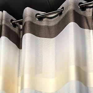 immagini dettagliate scegli il più recente enorme inventario Dettagli su TENDE tendaggi arredamento PANNELLO casa TENDA con anelli per  balcone veranda