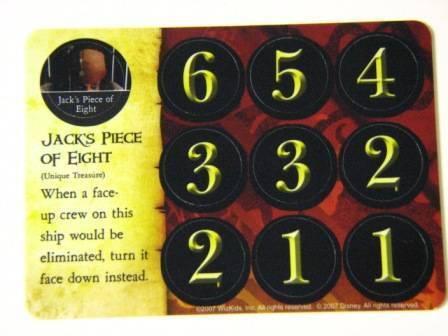 Pirates PocketModel Game 064 JACKS PIECE OF EIGHT