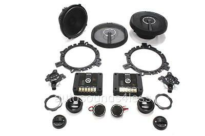 "Infinity Kappa 60.11cs 540 Watt 6.5"" 2-Way Car Component Speaker System 6-1/2"""