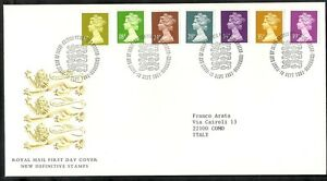 1991 Gb Fdc New Definitive Stamps 10 Sept - 004 Pour AméLiorer La Circulation Sanguine