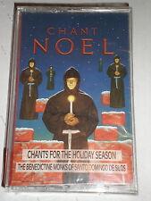 Benedictine Monks CASSETTE Chant Noel SEALED
