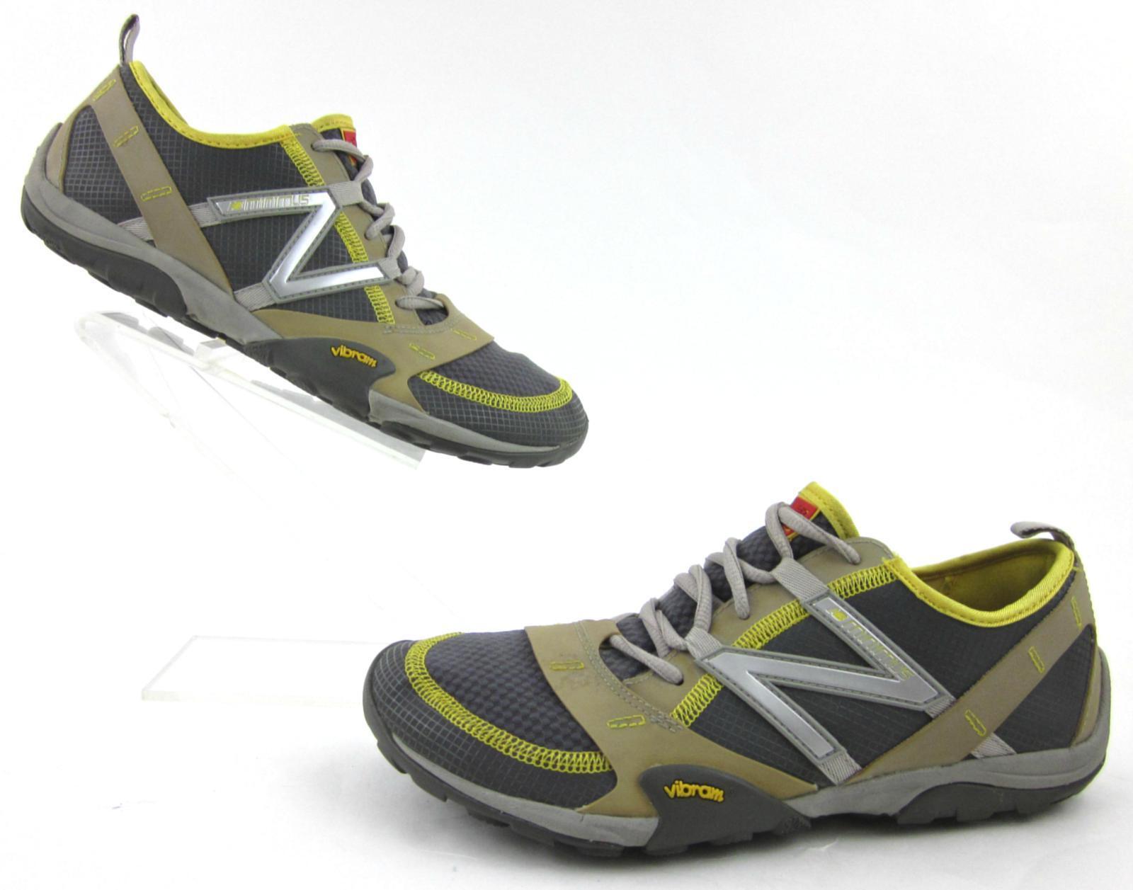New Balance Minimus Running Trail Zapatos gris suelas Vibram Amarillo Amarillo Amarillo Bronceado 9B EE. UU.  a la venta