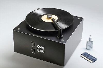 Okki Nokki 2 Schallplattenwaschmaschine Schwarz, Neu !