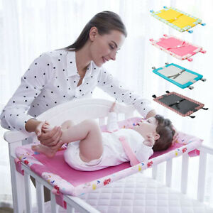 Baby-Diaper-Changing-Table-For-Infant-Bed-Safe-Belt-Foldable-Nursing-Pad-Cover