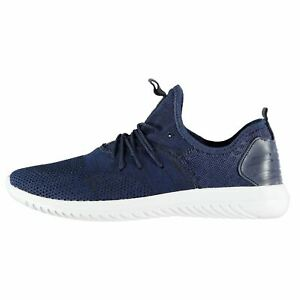 Mens Trainers Navy Fabric Sneakers Shoes Sports Cusago Yv6yf7bg