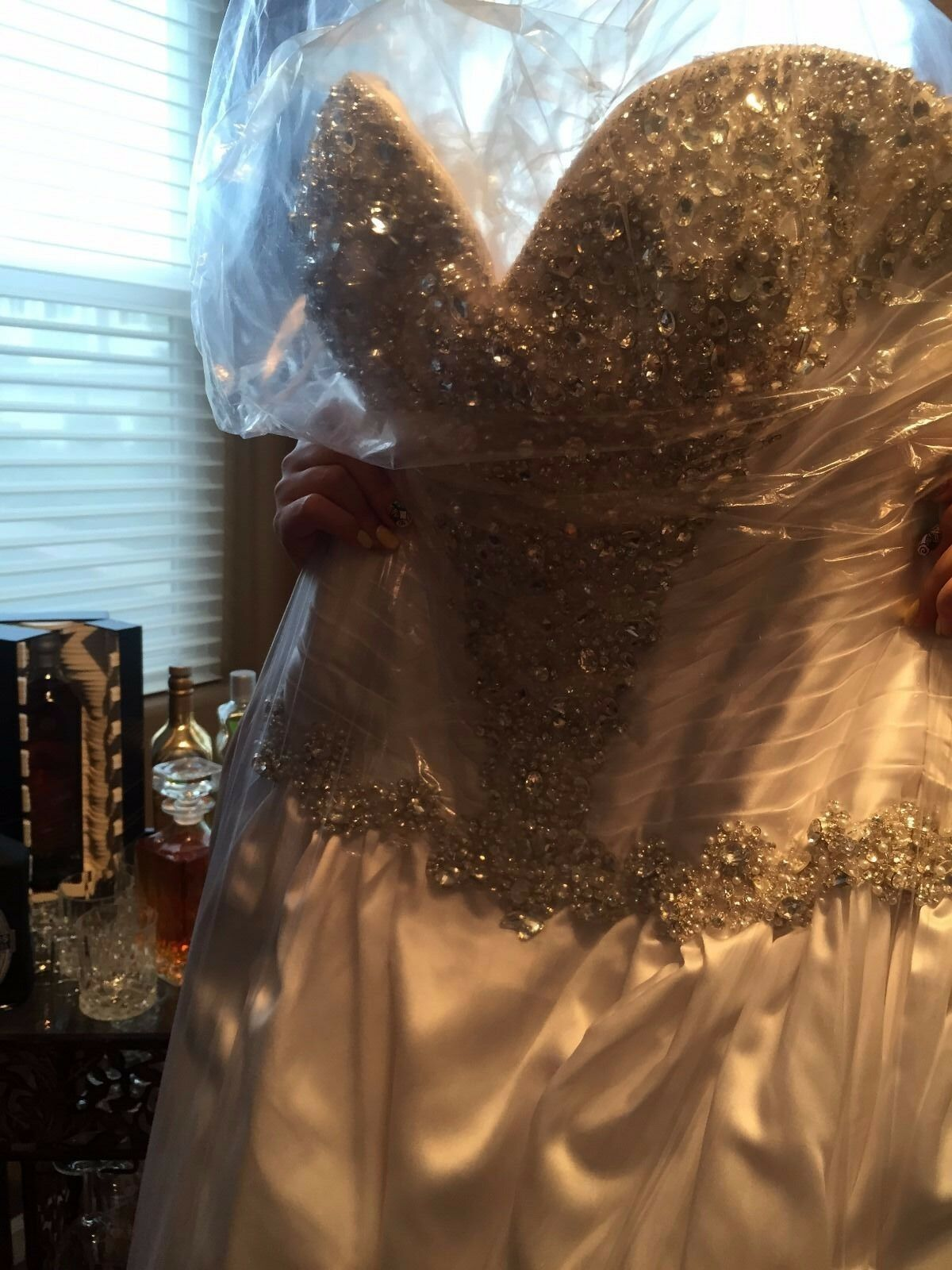 Allure Couture Wedding Dresses - Style C240 - image 5
