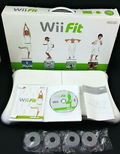 Wii-Fit-Game-Instruction-Booklet-Balance-Board-RVL-021-Nintendo-Fitness