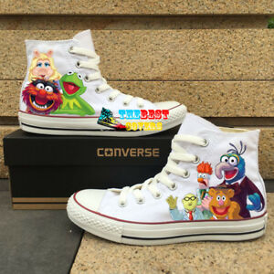 7a3bfb98308 Details about CONVERSE Chuck Taylor All Star THE MUPPETS tv series hand  painted shoes zapatos