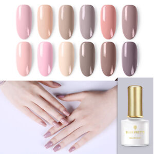 BORN-PRETTY-Nude-Colors-UV-LED-Gel-Nagellack-Polish-Soak-Off-Gel-Manikuere-Pink
