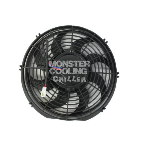 """1985-1996 Ford F Series Eletric Radiator Fans,2-12/"""" 130W Electric Fans /& Relay"""