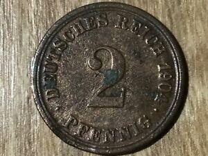 2 penique Imperio 1904 - 1916 j.11