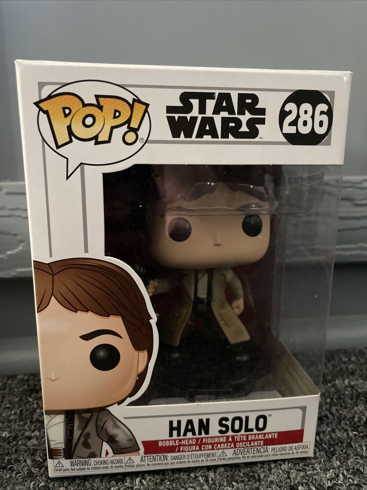 Funko Star Wars POP Endor Han Solo Vinyl Figure NEW IN STOCK