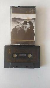 Vintage Cassette Tape U2 The Joshua Tree 1987 Island Records Pop Rock Bono