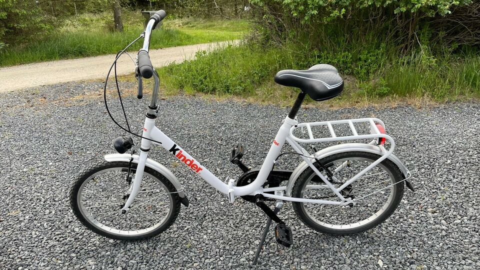Foldecykel, Kinder Junior , 1 gear