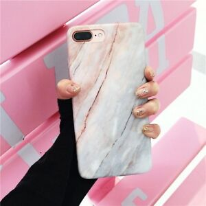 reputable site dbc08 568c3 Details about Glossy Granite Marble Soft TPU Phone Case Cover For Apple  iPhone 7 7 Plus 6S X 8