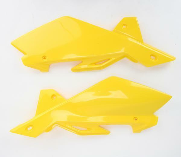 for Husqvarna Panel Side HUSQ Yellow UFO HU03317-103 Replacement Plastic