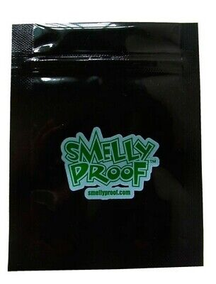 Skunk Sack Branded Smelly Proof  Double Seal Black Resealable Bags Free UK P/&P