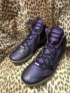 low priced 28e80 1e52b Image is loading Nike-Air-Zoom-Hyperfuse-469757-500-Purple-Gray-