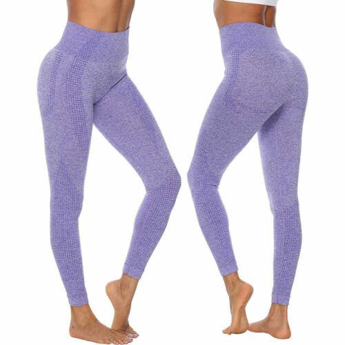 Women/'s Vital Seamless Leggings Gym Sportswear Yoga Running Fitness Shark Pants