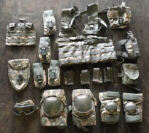 US-ARMY-MOLLE-II-ACU-UCP-Rifleman-ACUPAT-at-Digital-INFANTRY-Men-Set-19-Parts
