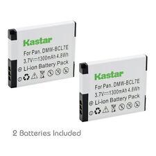 2x Kastar Battery for Panasonic Lumix DMW-BCL7 DMC-SZ9 DMC-XS1 DMC-XS3