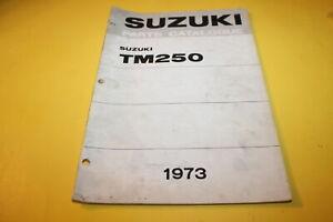 OEM-SUZUKI-1973-TM250-PARTS-CATALOGUE