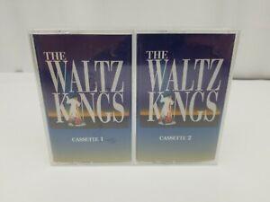 The-Waltz-Kings-Cassette-Tapes-Set-of-2-BMG-Glenn-Miller-Arthur-Murray-NEW