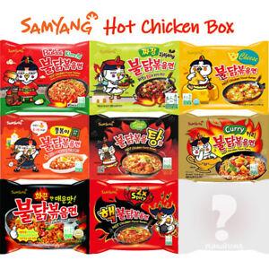 Samyang-Hot-Chicken-Spicy-Ramen-Noodle-Assorted-Mix-Buldak-Pack-of-10