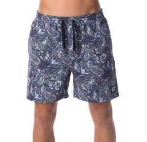 Rip-Curl-COSMO-17-034-ELASTIC-WALKSHORT-Mens-VOLLEY-Shorts-New-CWALZ1-Navy