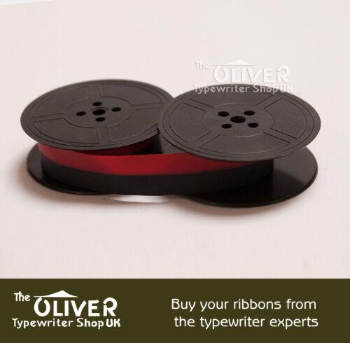 Schwarz oder Schwarz und Rot Silber Reed Schreibmaschine Farbband Hochwertig