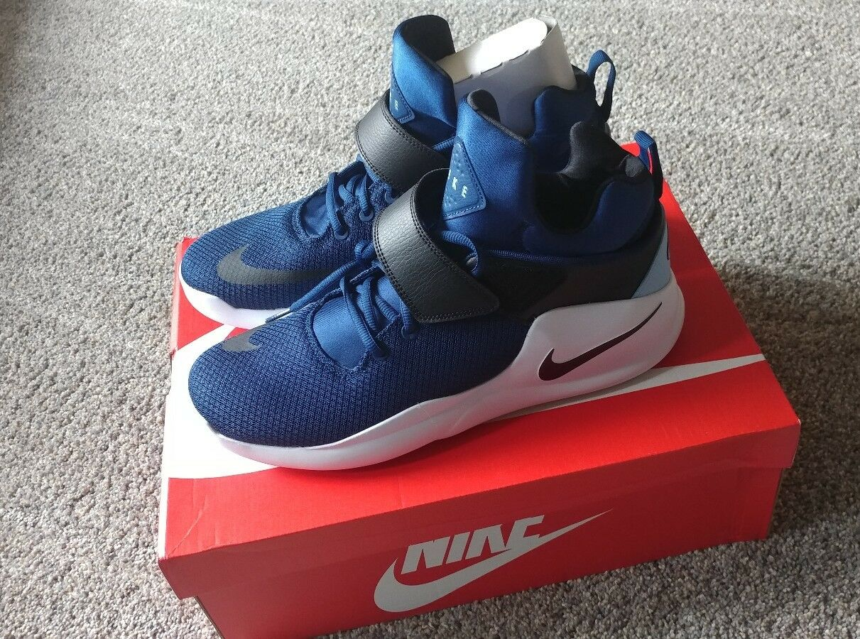 Nike Kwazi (844839- 400) Coastal Blue/White☆Men's Sz 12 ☆New In Box☆Very Nice!!☆