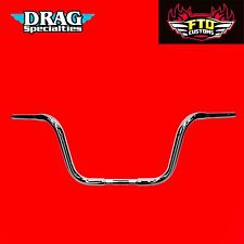 Drag Specialties 10 Inch Buffalo Touring Handlebars HD Touring Ape Hangers