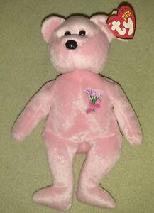 "TY Beanie Babies ""MUM"" the Mother's Day Teddy Bear"