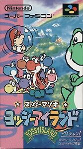 YOSSY-ISLAND-Yoshi-039-s-Super-Famicom-Nintendo-SFC-Import-Japan-Boxed-Game
