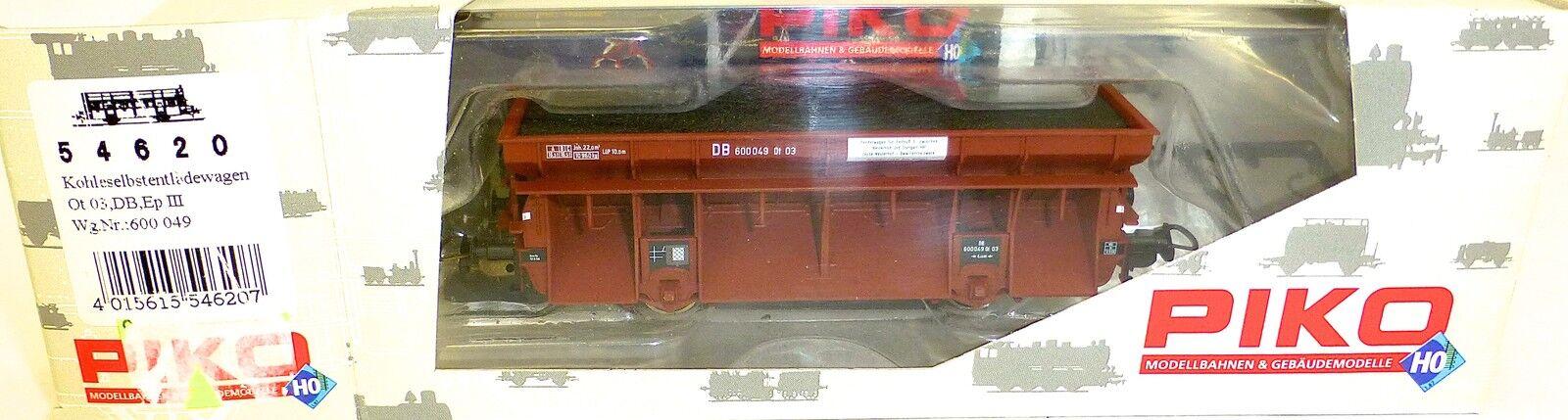 Anche carbone carrello scarico OT 03 DB EpIII PIKO 54620 h0 1:87 OVP hu2 µ *