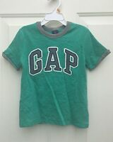 Baby Gap Boys Logo Green Tee Top Shirt 4t 4 $17