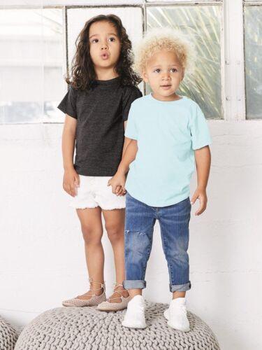 Canvas Bella 3413T Toddler Triblend Short Sleeve Tee